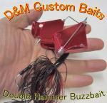 D&M Custom Baits/ D&Mカスタムベイツ  ダブルハマー バズベイト 1/2oz