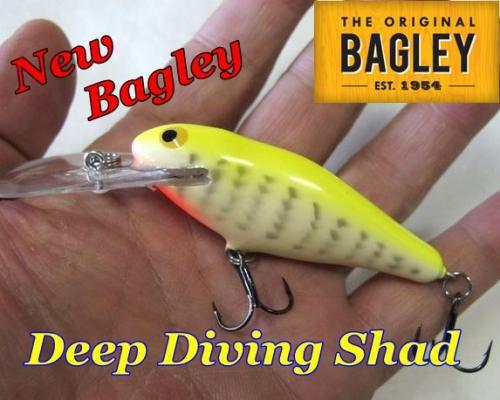 Bagley Deep Diving Shad/ ニューバグリー ディープダイビングシャッド DDS
