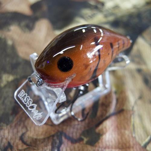 Bass Craft Crankbaits/バスクラフトクランクベイツ スクエアビルクランク #Brown/Red Craw