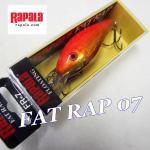 Rapala/ラパラ 限定復刻 ファットラップ 7cm FR07