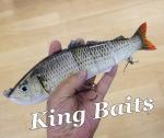 Kingbaits 5連結 ハードスイムベイト 10インチ