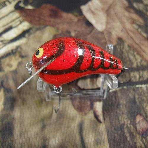PH Custom Lures Little Huter Squarebill Crankbait # Copper Red