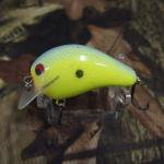 PH Custom Lures Little Huter Squarebill Crankbait # Chart/Blue