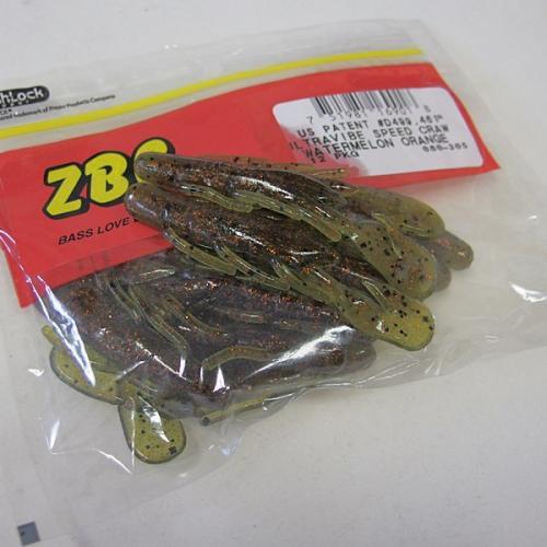 ZBC(ズームワーム) ウルトラバイブ スピードクロー #080-305 WATERMELON ORANGE