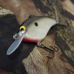 PH Custom Lures Skinny P Crankbait # Pearl Black