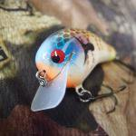 PH Custom Lures Little Huter Squarebill Crankbait # Golden Bream