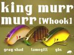 ご予約商品 9月入荷予定分 六度九分  king murr murr/キングマーマー