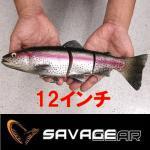 サベージギア 3Dラインスルートラウト Savage Gear 3D Line Thru Trout 12インチ