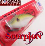 Norman Lures ScorpioN Lipless Crankbaits /ノーマンルアーズ スコーピオン