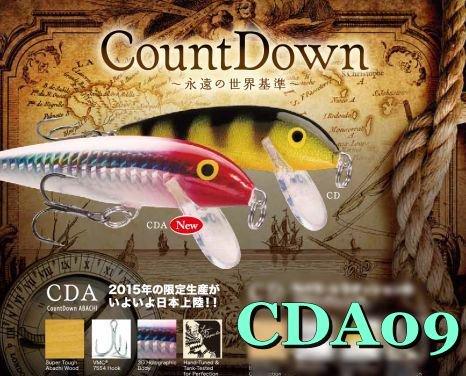 Rapala / ラパラ CDA09 カウントダウン アバシ 9cm 1年に一度だけの生産です!