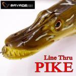 サベージギア 3Dラインスルー パイク Savage Gear 3D Line Thru PIKE 12インチ
