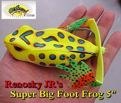 Renosky JR's Super Big Foot Frog 5