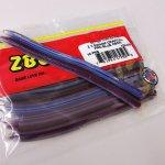 ZBC ズームワーム Z3スワンプクローラー #128-376 PRO BLUE NEON
