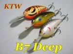 KTW LURES  B7 Deep
