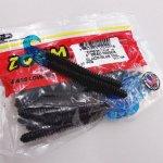 ZBC ズームワーム 4インチ デッドリンガー #017-124 BLACK/BLUE TAIL
