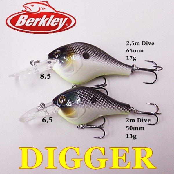 Berkley DIGGER / バークレイ  ディガークランクベイト