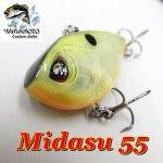 ゲーリーヤマモト Midasu 55 / ミダス55リップレスクランク