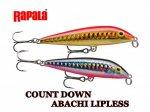 25%OFF!! Rapala / ラパラ CDAL7 カウントダウンアバシリップレス 7cm