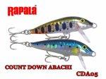 Rapala / ラパラ CDA05 カウントダウン アバシ 5cm 1年に一度だけの生産です!