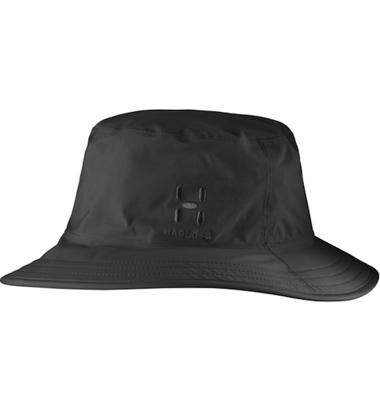【HAGLOFS】ホグロフス PROOF RAIN HAT  c: True Black