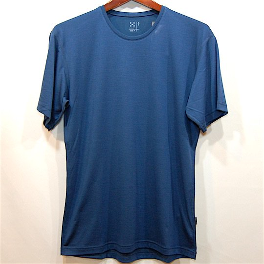 【HAGLOFS】ホグロフス 2016 GULLY TEE MEN c:Blue Ink