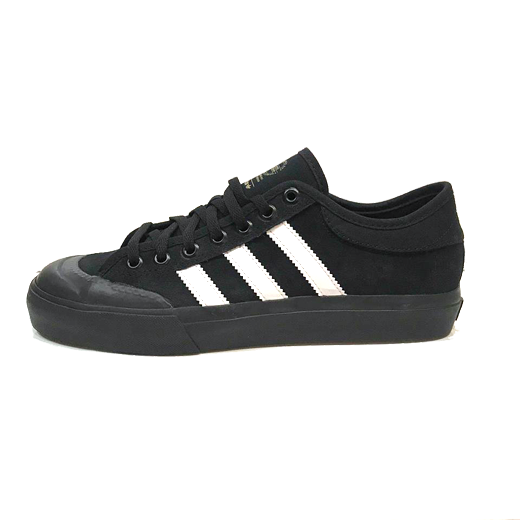 <img class='new_mark_img1' src='//img.shop-pro.jp/img/new/icons23.gif' style='border:none;display:inline;margin:0px;padding:0px;width:auto;' />20%OFF【ADIDAS】アディダス 18SS MATCHCOURT SUEDE VULC ADV c : Blk/Wht/Blk