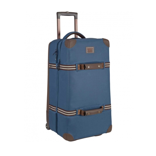 20%OFF【BURTON】バートン 18SS  WHEELIE DBL DECK TRAVEL BAG 86L c: Mood Indigo Coated [送料無料]
