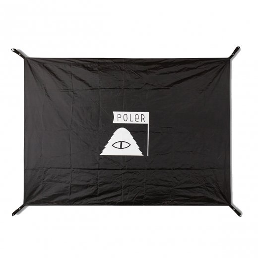 【POLER】ポーラー GROUND SHEET  c:Black