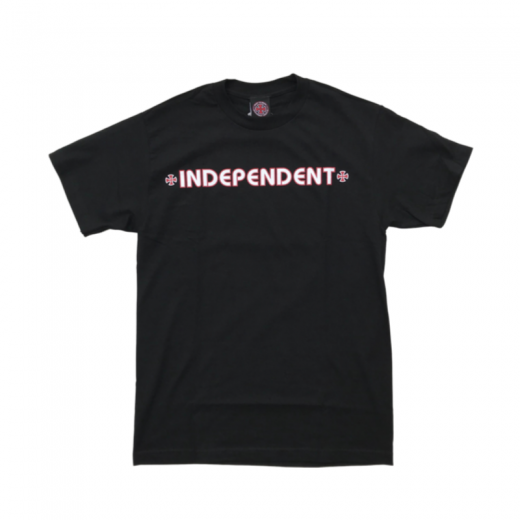 <img class='new_mark_img1' src='https://img.shop-pro.jp/img/new/icons23.gif' style='border:none;display:inline;margin:0px;padding:0px;width:auto;' />20%OFF【INDEPENDENT TRUCKS】インデペンデント S/S BAR CROSS c: Black