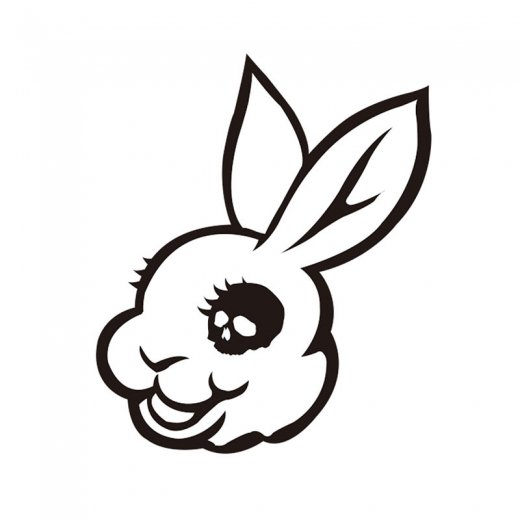 <img class='new_mark_img1' src='https://img.shop-pro.jp/img/new/icons8.gif' style='border:none;display:inline;margin:0px;padding:0px;width:auto;' />【UG】ユージーMADBUNNY STICKER  Lサイズ