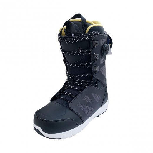 <img class='new_mark_img1' src='https://img.shop-pro.jp/img/new/icons23.gif' style='border:none;display:inline;margin:0px;padding:0px;width:auto;' />20%OFF【SALOMON】サロモン 19-20 LAUNCH LACE  c: Black[送料無料]