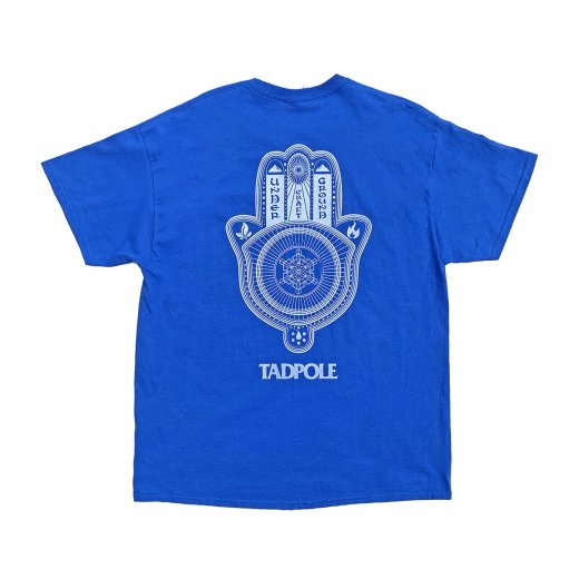 【TADPOLE CRAFT】タッドポールクラフト LOGO TEE c: Royal/White