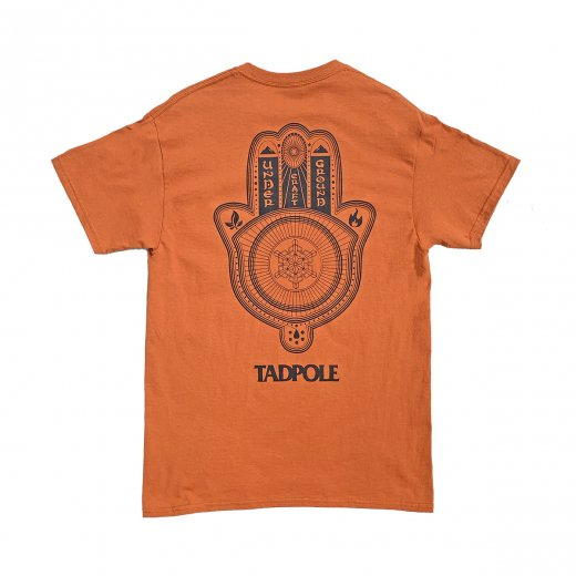【TADPOLE CRAFT】タッドポールクラフト LOGO TEE c: Orange/Black