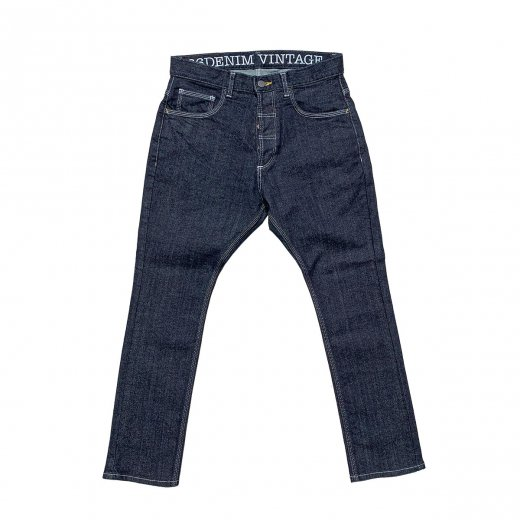 <img class='new_mark_img1' src='https://img.shop-pro.jp/img/new/icons8.gif' style='border:none;display:inline;margin:0px;padding:0px;width:auto;' />【66 DENIM VINTAGE】ロクロク 66 SARROUEL STRETCH DENIM  c: Indigo[送料無料]