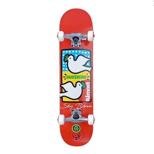 <img class='new_mark_img1' src='//img.shop-pro.jp/img/new/icons8.gif' style='border:none;display:inline;margin:0px;padding:0px;width:auto;' />【ALMOST】オールモスト COMPLETE SKATEISTAN DOUBLE DOVES 7.5