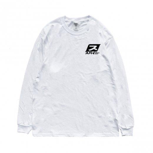 【SPINY★】スパイニーオリジナル 80s L/S  c: White