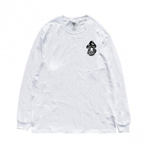 【SPINY★】スパイニーオリジナル KINOKO L/S  c: White