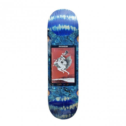 【MADNESS SKATEBOARDS】マッドネス ALLA POPSICLE  BLUE SWERL 8.625