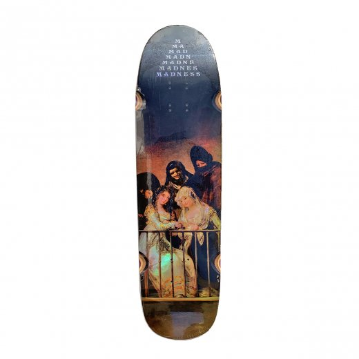 【MADNESS SKATEBOARDS】マッドネス CREEPER HOLOGRAPHIC 8.5