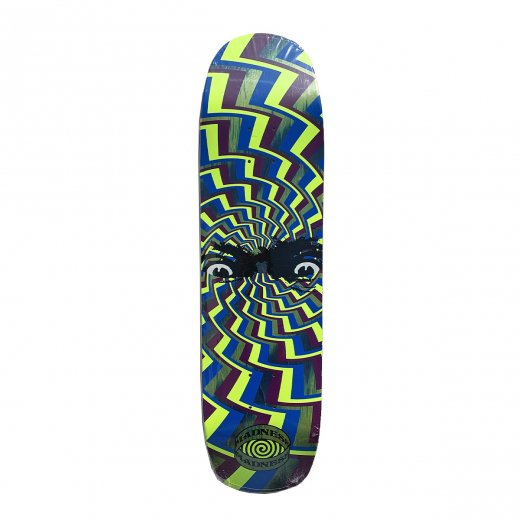 【MADNESS SKATEBOARDS】マッドネス SPUN OUT GREEN 8.375