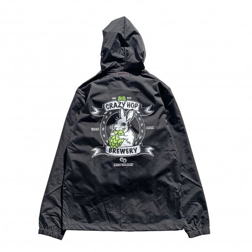 <img class='new_mark_img1' src='https://img.shop-pro.jp/img/new/icons8.gif' style='border:none;display:inline;margin:0px;padding:0px;width:auto;' />【UG】ユージー CRAZY HOP BREWERY JACKET  c:Black