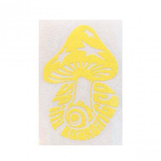 【SPINY★】スパイニーオリジナル KINOKO ダイカットステッカー c: Yellow