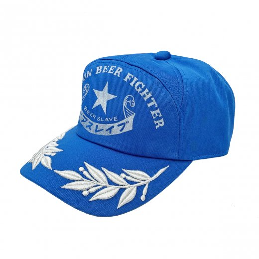 【BEER SLAVE】ビアスレイブ NIPPON BEER FIGHTER APPOLO CAP c: Blue