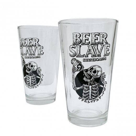 <img class='new_mark_img1' src='https://img.shop-pro.jp/img/new/icons8.gif' style='border:none;display:inline;margin:0px;padding:0px;width:auto;' />【BEER SLAVE】ビアスレイブ PINT GLASS