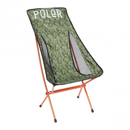 <img class='new_mark_img1' src='https://img.shop-pro.jp/img/new/icons8.gif' style='border:none;display:inline;margin:0px;padding:0px;width:auto;' />【POLER】ポーラー STOWAWAY CHAIR -c: Furry Camo