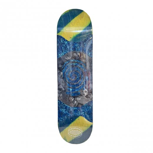 <img class='new_mark_img1' src='https://img.shop-pro.jp/img/new/icons8.gif' style='border:none;display:inline;margin:0px;padding:0px;width:auto;' />【MADNESS SKATEBOARDS】マッドネス VOICES RIP SLICK BLUE/GREEN 8.125