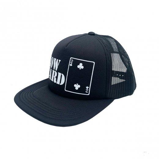 【LOWCARD 】ローカード ORIGINAL LOGO MESH CAP c: Black