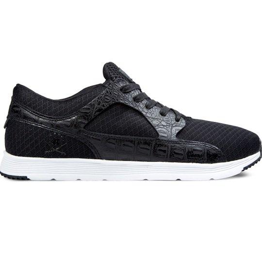 【RANSOM】VALLEY c:Black Croc/White Valley Lite Shoes 送料無料