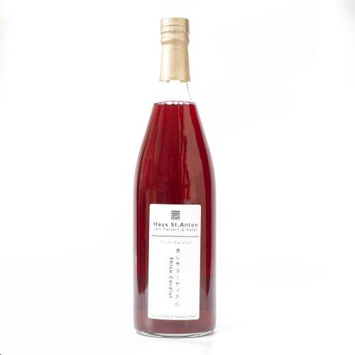 赤しそジュース(梅酢入) 濃縮タイプ・780ml