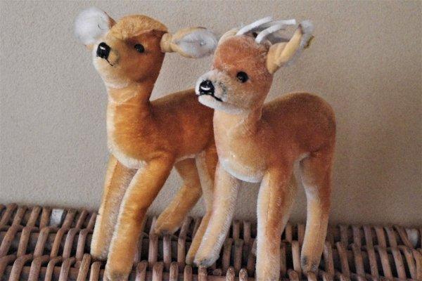 シュタイフ ビンテージ 鹿のカップル